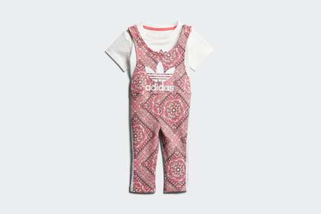 Mosaic Toddler Jumpsuits