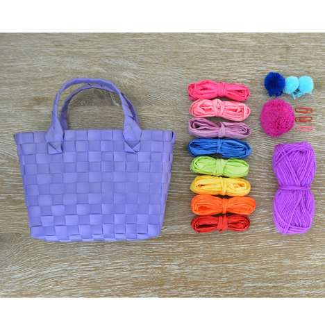 DIY Tote Bag Kits - Seedling's Design Your Own Wowen Bag Kit Encourages Creativity