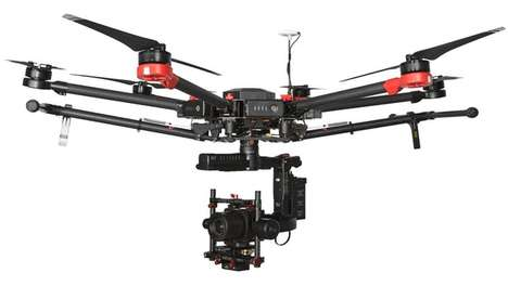 Industrial Drone Cameras - This Camera is Designed For High-Powered Survey and Inspection Missions