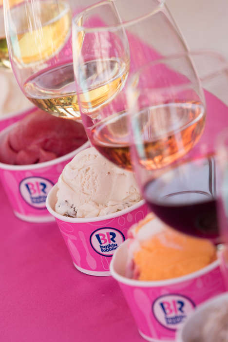 Wine-Paired Ice Creams