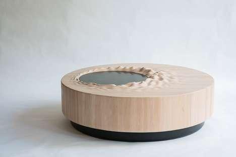 Terrain-Informed Furniture Exhibitions