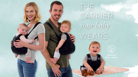 Infant-Carrying Rompers