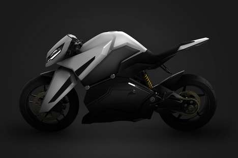 Angular Supercharged Motorcycle Concepts