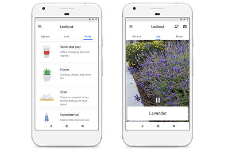 Visual Impairment-Aiding Apps - Google's Lookout App Helps the Visually Impaired Navigate the World