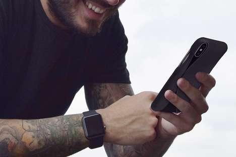 Swooping Sculptural Smartphone Sheaths
