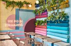 Multi-Colored Restaurant Designs