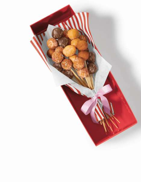 Exclusive Celebratory Food Bouquets - Tim Hortons Launches Timbits Bouquets for Mother's Day