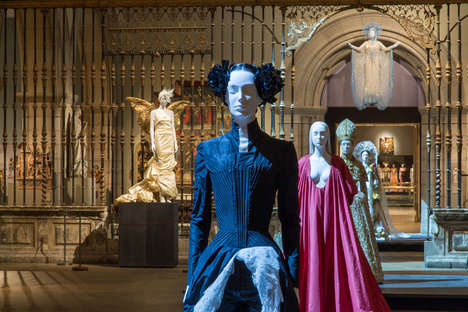 Catholic-Inspired Haute Couture Exhibitions