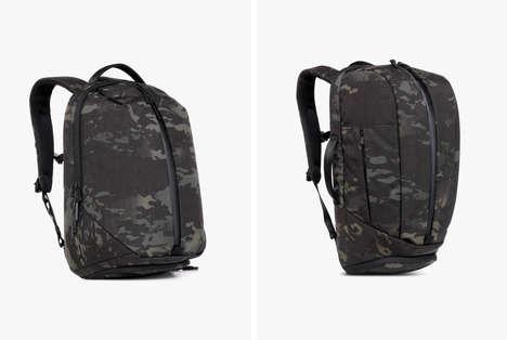 Police-Inspired Camo Backpacks