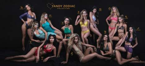 Sensual Zodiac-Inspired Lingerie Collections - Yandy's 12-Piece Underwear Sets are Sultry & Colorful