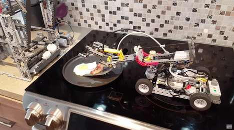 LEGO Breakfast Machines