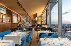 Intimate Italian Restaurants - The Ristorante Torre is Placed in the Fondazione Prada OMA Building