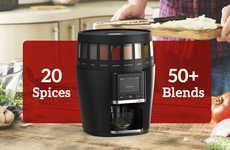 Spice-Blending Kitchen Appliances - The 'TasteTro' Spice System Easily Upgrades Your Food's Flavor
