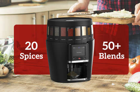 Spice-Blending Kitchen Appliances