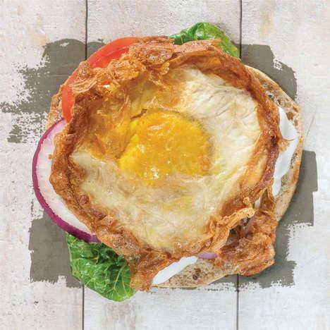 Vegan Egg Burgers