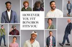 Inclusive Menswear Campaigns