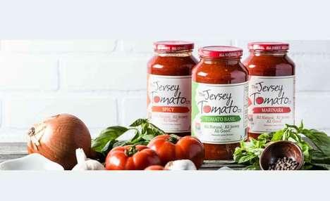Regionally Specific Tomato Sauces