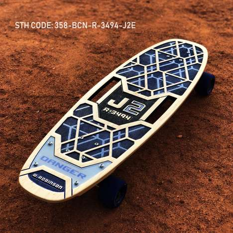 Sci-Fi Limited-Edition Skateboards