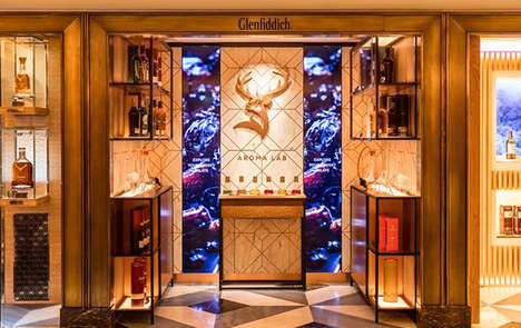 Sensory Whisky Labs - The Glenfiddich Aroma Lab Helps Consumers Tap Into Scent and Taste