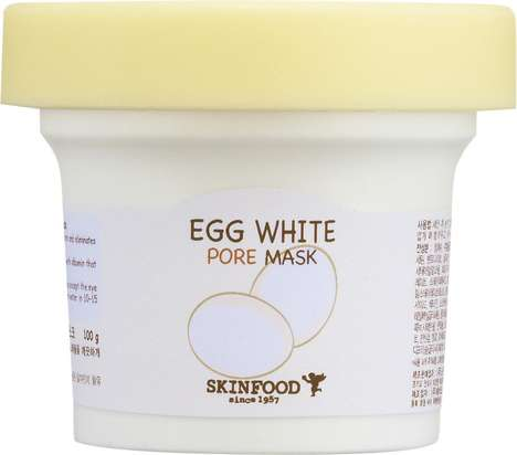 Egg White-Based Face Masks