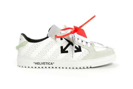 Unconventionally Detailed Sneakers