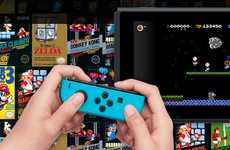 Cloud-Connected Gaming Subscriptions - This Nintendo Service Offers Cloud Saving and Classic Games