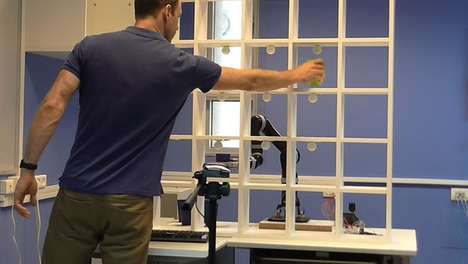 Game-Playing Rehab Robots - This Robot Challenges Patients to Games of 'Tic-Tac-Toe'