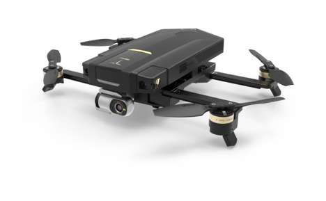 Featherweight Photography Drones - The 'GDU 02 Plus' Can Be Folded Away When Not In Use