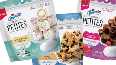 Bite-Sized Snack Cakes - Hostess Has Debuted a Lineup of Poppable Snacks Called Bakery Petites