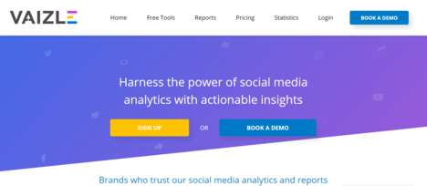 Actionable Social Media Analytics - 'Vaizle' Helps Brands Harness the Power of Social Media