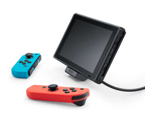 Adjustable Console-Charging Stands