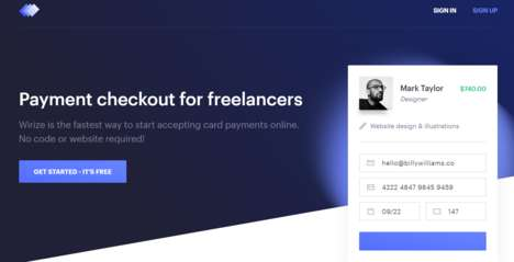 Quick Freelance Payment Plugins - 'Wirize' is a Coding-Free Method for Receiving Freelance Payments