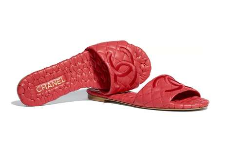 Luxurious Quilted Sandals