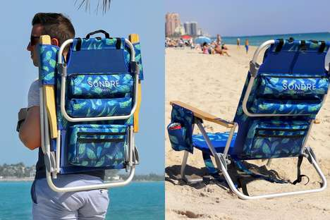 Gear-Storing Backpack Chairs