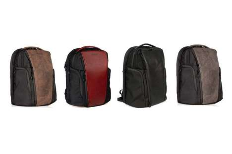 Sleek Crowd-Sourced Backpacks