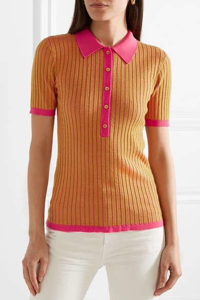 Vibrantly Striped Polos