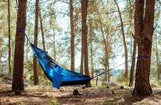 Expanding Camper Hammocks - The Crua 'Koala' Hammock  Offers a Place to Sleep and Relax