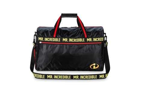 Sleek Cartoon Duffel Bags