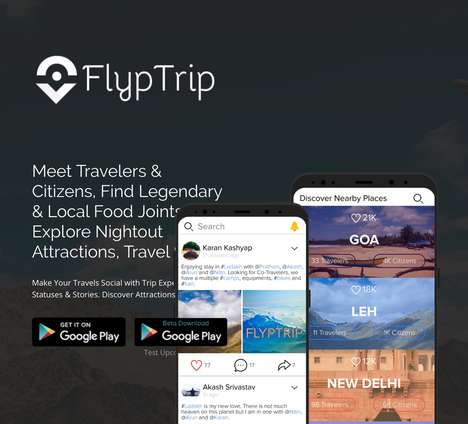 Traveler-Connecting Social Networks