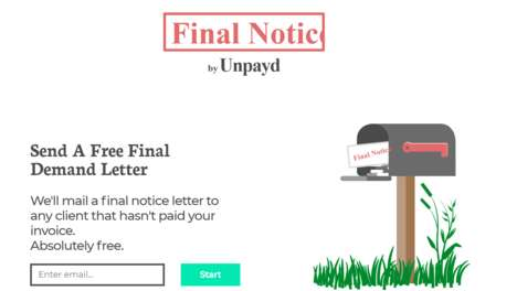 Free Final Notice Forms