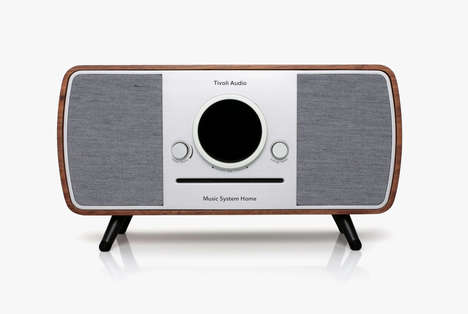 Stylish All-In-One Speakers