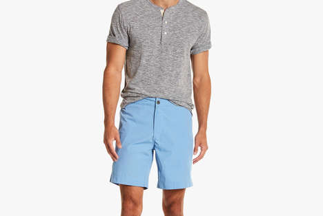 Versatile Men's Swim Shorts