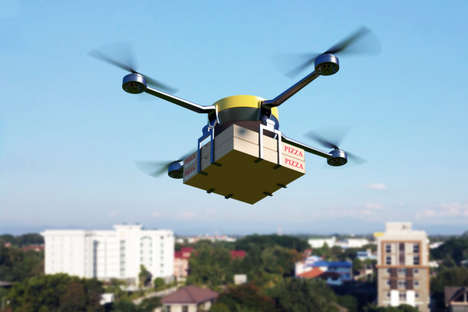 Speedy Food Delivery Drones