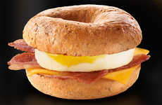 Fast Food Breakfast Bagels - McDonald's Bagels Have Arrived in Canada