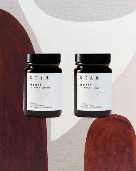 Bespoke Daily Vitamins - The Bear Brand Offers Nutritious and Contemporary Supplements