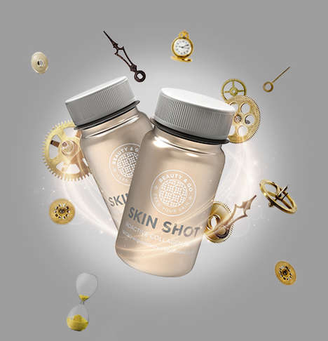Liquid Collagen Shots - The Skin Shot Contains Skin-Regenerating Ingredients