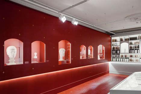 Modern Poetic Exhibition Spaces