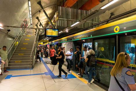 Facial Recognition Subway Lines