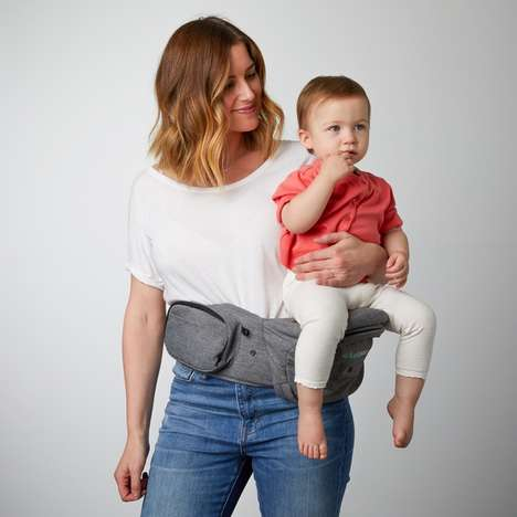 Baby Carrier Fanny Packs - The 'TushBaby' Carrier Eliminates Strains and Stores Essentials