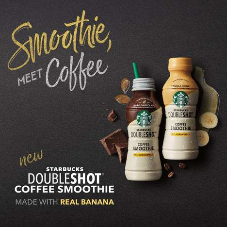 Ready-to-Drink Caffeinated Smoothies